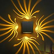 BriLight Moderno / Contemporáneo Lámparas de pared Metal Luz de pared 90-240V 3W