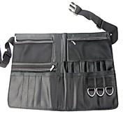 De alta calidad Negro Multifunción Brochas de poliéster bolsa de la cintura
