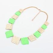 Collar de moda Shadela Plaza Verde CX141