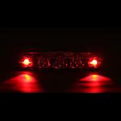 Luces para bicicleta Luz Trasera para Bicicleta LED Ciclismo Impermeable Luz LED AAA Lumens Batería Ciclismo-MOON