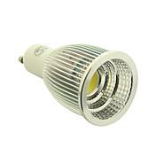 gu10 ledスポットライト1コブ700-770lm暖かい白コールドホワイト2800-3000k / 6000-6500k ac 85-265v
