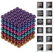 Juguetes Magnéticos Piezas 5 MM Juguetes Magnéticos Bloques de Construcción Bolas magnéticas Juguetes ejecutivos rompecabezas del cubo