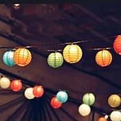 10 LED Blanco Fresco Recargable / Decorativa 85-265 V