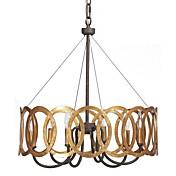 Tradicional/Clásico Lámparas Araña Para Dormitorio Comedor Habitación de estudio/Oficina Hall Bombilla no incluida