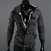 de los hombres de moda casual anuosi dos piezas como sudadera con capucha chaqueta de punto
