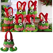 bolsa de regalo de bolsa de dulces de monos bolsa de regalo de fiesta de decoración de navidad