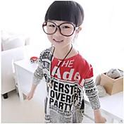 Camiseta Algodón Manga Larga Invierno Primavera Otoño Pantalla de color
