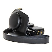 retro pajiatu® pu aceite de cuero de la cámara de la piel bolsa funda protectora para Canon Powershot G7 / x / G7x