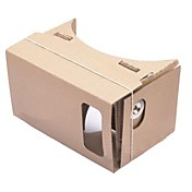 cartón DIY realidad virtual vidrios 3d para iphone 5s / Samsung Galaxy S4 Mini / Mini s3 / Nokia / lg / moto