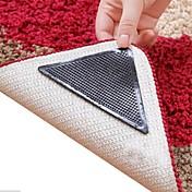 8個驚くべき再利用可能なウォッシャブル三角形ノンスリップ滑り止めの敷物グリッパーカーペットマットステッカー