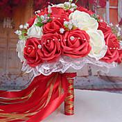 1 ブランチ スタイロフォーム バラ テーブルトップフラワー 人工花