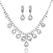 Mujer Forma Geométrica Gargantillas Diamante Sintético Legierung Gargantillas , Boda Fiesta Cumpleaños Pedida