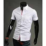MEN カジュアルシャツ ( コットン ) カジュアル 半袖