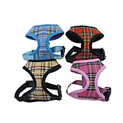 犬用品 ハーネス 調整可能/引き込み式 レッド / ブルー / イエロー / ローズピンク ナイロン