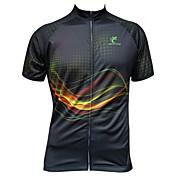 JESOCYCLING Maillot de Ciclismo Hombre Mujer Manga Corta Bicicleta Camiseta/Maillot Top Ropa para Ciclismo Secado rápido Resistente a los