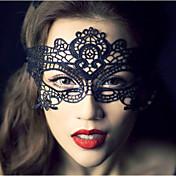 パーティーholloween誕生日ウェディングエレガントなスタイルのための手作りレースマスク
