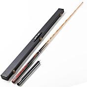 Tres cuartos de dos piezas Cue Sticks & Accesorios Cue Azul Piscina Inglés Billar Snooker Madera