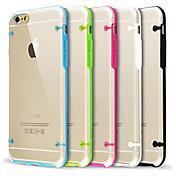 6プラス6S iphoneのために暗い場合のiphone 7超透明グロー用