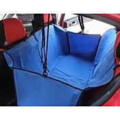 ネコ 犬 シートカバー ペット用 バスケット 純色 携帯用 折り畳み式 ブラック グレー Brown レッド ブルー