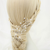 模造真珠合金ヘアピンヘッドピース古典的な女性のスタイル