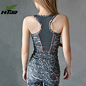 Yoga Tops Pantalones + Tops Transpirable / Materiales Ligeros Eslático Ropa deportiva Mujer - HTLD Yoga