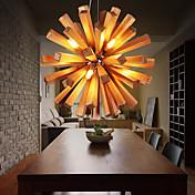 Campestre Lámparas Colgantes Para Sala de estar Dormitorio Comedor Habitación de estudio/Oficina AC 220-240V Bombilla incluida