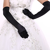 スパンデックス 肘丈 グローブ ブライダル手袋 パーティー/イブニング手袋
