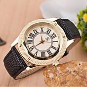 女の子のレイシの穀物の腕時計