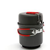 ALOCS キャンプ用調理器具セット キャンプ用鍋 セット ハードアルミナ のために キャンピング&ハイキング