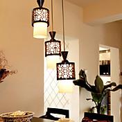 Rústico/Campestre Vintage Retro Farol Campestre Moderno/Contemporáneo Tradicional/Clásico Lámparas Colgantes Para Sala de estar