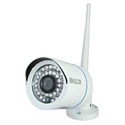 HOSAFE - 屋外 - 防水/デイナイト/モーション検出/デュアルストリーム/リモートアクセス/IRカット/ワイファイ・プロテクテッド・セットアップ(WPS)/プラグアンドプレイ - 弾丸