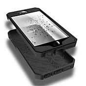 For iPhone 6 etui iPhone 6 Plus etui Stødsikker Støvsikker Vandtæt Etui Heldækkende Etui Helfarve Blødt TPU foriPhone 6s Plus/6 Plus