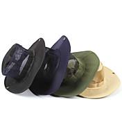 サンハット 帽子 軽量素材 ブラック / ダークブルー / ベージュ / アーミーグリーン キャンピング&ハイキング 春 / 夏 / 秋