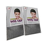 peruca preta tampas peruca acessórios rede de cabelo anti net peruca especial deslizamento fixo para 2pcs peruca