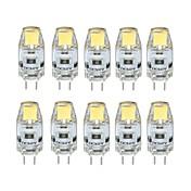 1W G4 Luces LED de Doble Pin T 1 leds COB Regulable Blanco Cálido Blanco Fresco 100lm 3000/6000K DC 12V