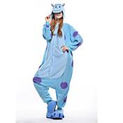 Adults' Kigurumi Pajamas Blue Monster One...