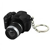 LED照明 / Key Chain カメラ形状 特殊型 / ファッション Key Chain 黒フェード プラスチック