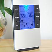 湿度計温湿度計クロック温度計湿度METE液晶デジタル温度計測器