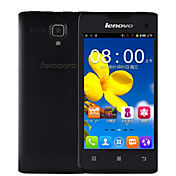 "Lenovo A396 4.0 "" Android 2.3 Smartphone 3G (Single SIM Quad Core 2 MP 256MB + 512MB Negro / Rosa / Blanco)"