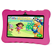 7 tommer Børn Tablet (Android 4.4 1024*600 Quad Core 512MB RAM 8GB ROM)