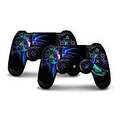 PS4コントローラー用の新しい保護スキンステッカー(UG-012017019)