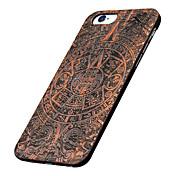 iphone 7プラスバック超薄型/他他の木製ハードAppleのiPhoneの6S 6プラスSE 5秒5をカバー