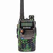 BAOFENG UV-5RA Walkie Talkie  Portátil Digital Comando por Voz Banda Dual Display Dual Standby Dual CTCSS/CDCSS LCD Radio FM 1'5KM-3KM