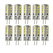 3W G4 Luminárias de LED  Duplo-Pin T 24 leds SMD 2835 Decorativa Regulável Branco Quente Branco Frio 200-250lm 3000/6000K DC 12V