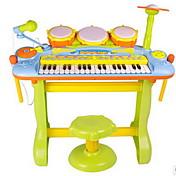 Musik Legetøj Plastik Regnbue puslespil legetøj Musik Legetøj