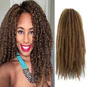Afro rizado Trenzas Trenzas de cabello la Habana Rizado Afro Cabello 100 % Kanekalon Cabello para trenzas Extensiones de cabello
