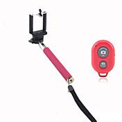 携帯電話ホルダーとiPhone用のBluetoothリモートシャッター付自分撮り延長可能カメラハンドヘルド一脚
