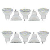 2W 150-200 lm GU4(MR11) デコレーションライト MR11 9 LEDの SMD 5730 装飾用 温白色 クールホワイト 9-30