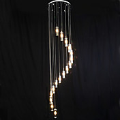 クラシック LED ペンダントライト ダウンライト 用途 リビングルーム ベッドルーム ダイニングルーム 研究室/オフィス キッズルーム 廊下 ガレージ 110-120V 220-240V 760lm 電球付き