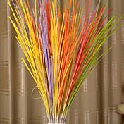 1pc 1 Rama Poliéster / Plástico Plantas Flor de Suelo Flores Artificiales 37.7inch/96CM